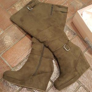 Justfab heeled Kulani boots
